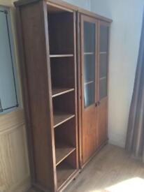 Ikea bookcase / bookshelf. Matching items available - leksvik / markor