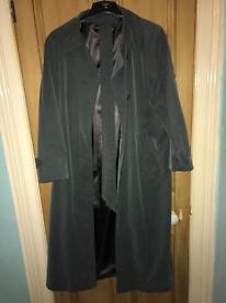 Green/grey long coat!