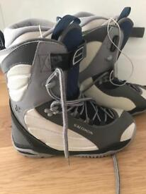 Salomon women's snowboard boots