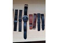 Samsung gear s2 classic smart watch.