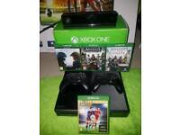 Xbox one 2 controller 4 games Kinect