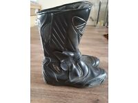Nitro motorcycle boots, size 10, £15