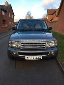 Range Rover sport 3.6 V8 57 plate