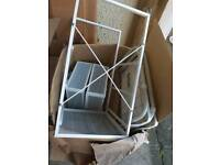 FREE! Little ikea mini wire basket drawers and 2x bedside or couch single dining tables