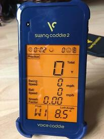 Swing Caddie 2 - Portable Launch Monitor