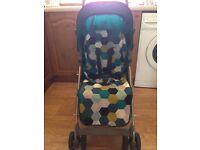 Barney stroller, like new only used a handful of times.