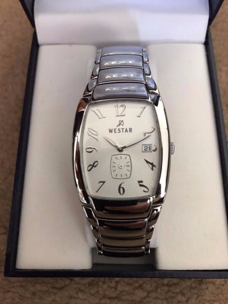 WESTAR stainless steel watches for men