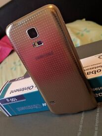 Samung S5 mini 16GB gold colour and sim free FOR SALE!