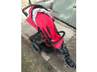 Phil & Ted Explorer Inline Double Buggy with loads of extras