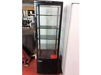 Polar Chilled Display with Curved Glass Door / Cake Fridge USED