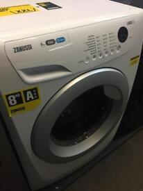 Zanussi 8kg washing machine with 6 mth warranty