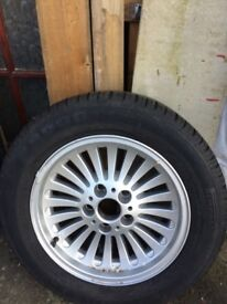 Wheels/Tyres assorted for sale bmw Volvo ford