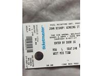 2 John Bishop tickets