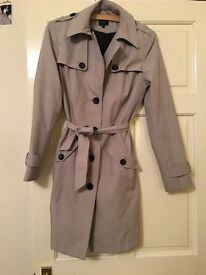 Marks and spencer trench coat size 10
