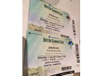 Green Day Tickets: British Summer Time Hyde Park