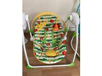 Mothercare baby swing brand new