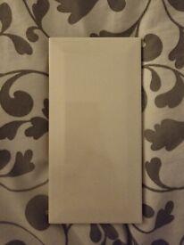 ELIANE 50 White Gloss Tiles 20cm x 10cm
