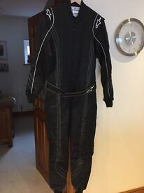 Karting clothing- Alpinestars kart suit