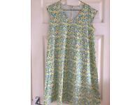 Brand New! Liberty print Uniqlo summer dress Size M