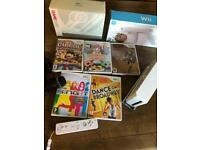 Wii Machine with games and accessories set