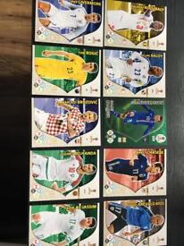 10 WC 2018 TRADING CARDS