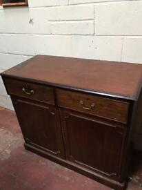 Small and tall Victorian sideboard