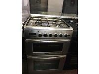 60CM STAINLESS STEEL DUEL FUEL BELLING GAS COOKER