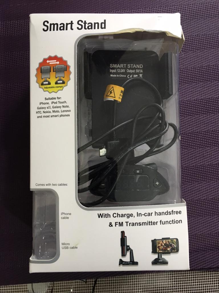 Car Hands-free, charger and FM Transmitter