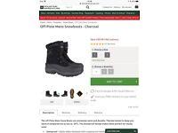 Mountain warehouse snow walking boots size 9