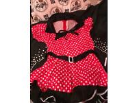 Mini mouse dress up outfit