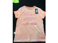Girls genuine Tommy Hilfiger t-shirt age 12-14yrs