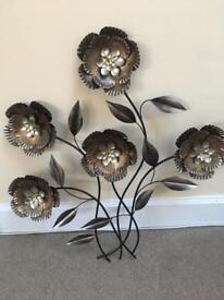 Metal wall art