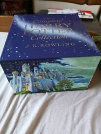 The complete harry potter collection books