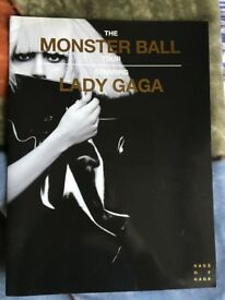 Lady Gaga Monster Ball Tour Programme