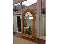 Beautiful Gothic Arch Top Mirror
