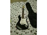 electric guitar with amp mint condition