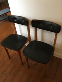 Retro Vintage Dining Kitchen Chairs