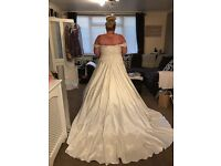 """As New"" Plus Size Wedding Dress- Design from Kay Mason's Bridal"