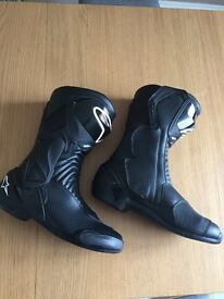 Alphinstar motorbike riding boots size uk 11