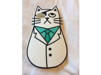 White Cat Pirate Phone Cover