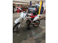 Crf 250 2008 twin pipes
