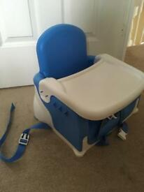 Lindam Booster Seat portable high chair