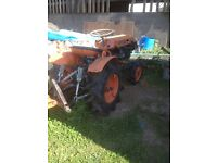 kubota compact tractor b7000 4wd