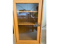 Two display cabinets- free for collection