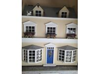 Collectable, miniature 1950's theme dolls house