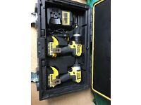 dewalt 18 volt cordless tools , including batteries, still under warranty.
