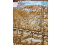 Embroidered bed spread double/king size