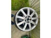 X3 Audi VW alloys with tyres