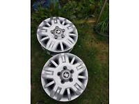 Brand New Peugeot R15 Wheels from Van