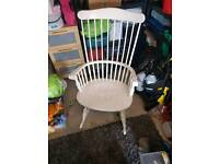 Old large rocking chair